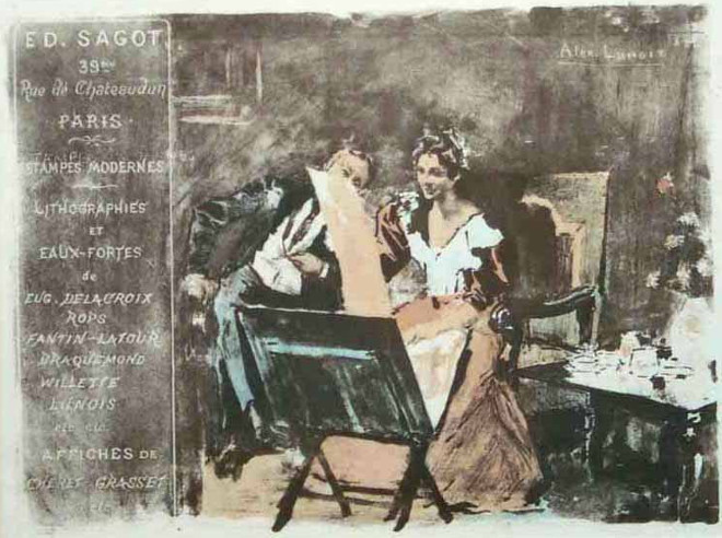 Alexandre Lunois - Sagot - Le Garrec - 1894