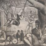 Marcel Gromaire - Semaine anglaise, bois de Vincennes