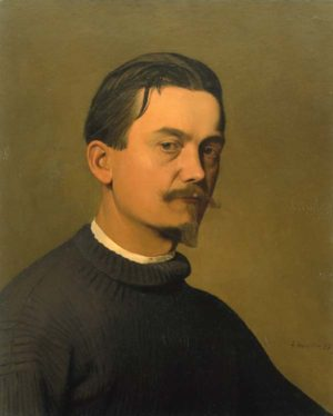 Félix Vallotton - Autoportrait